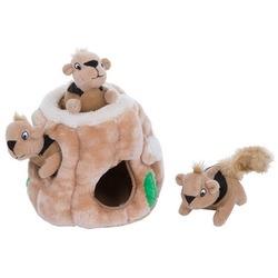 Pet Stages игрушка-головоломка для собак Hide-A-Squirrel (спрячь белку) малая 12 см
