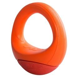 Rogz игрушка для собак кольцо-неваляшка Pop-Upz, цвет оранжевый