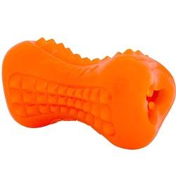 Rogz массажная кость для лакомства из резины для собак Yumz, цвет салатовый