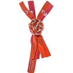 Rogz канатная игрушка с пищалкой для собак COWBOYZ, цвет оранжевый