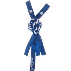 Rogz канатная игрушка с пищалкой для собак COWBOYZ, цвет синий