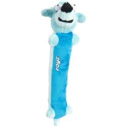Rogz мягкая игрушка с пищалкой для щенков Sausage, цвет голубой