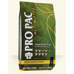 Pro Pac Ultimates Puppy Large breed сухой корм для щенков крупных пород курица с коричневым рисом
