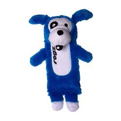 Rogz Thinz плюшевая собачка с пищалкой, цвет синий
