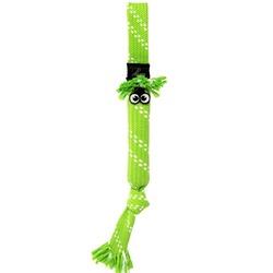 Rogz игрушка веревочная шуршащая SCRUBZ, цвет салатовый