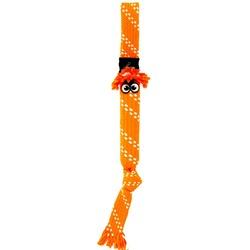 Rogz игрушка веревочная шуршащая SCRUBZ, цвет оранжевый