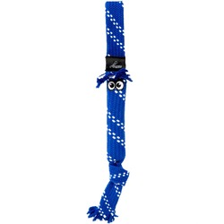 Rogz игрушка веревочная шуршащая SCRUBZ, цвет синий