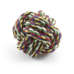 """Triol """"Верёвка-плетеный мяч"""" Игрушка для собак, 5 см, арт.300CQ"""
