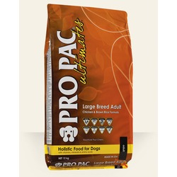 Pro Pac Ultimates Adult Large breed сухой корм для собак крупных пород курица с коричневым рисом