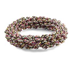 """Triol """"Веревка-плетеное кольцо"""" Игрушка для собак, диаметр 20 см, арт.304CQ"""
