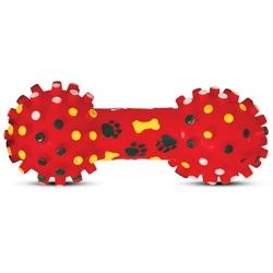 """Triol """"Гантель с шипами"""" Игрушка для собак из винила, 20 см, арт.72100"""