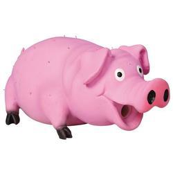 """Trixie """"Свинья со щетиной"""" игрушка для собак, латекс, 21 см, арт.35499"""