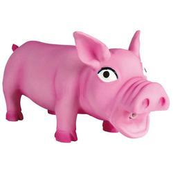 """Trixie """"Свинка хрюкающая"""" игрушка для собак, латекс, 23 см, арт.35491"""