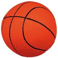"""Trixie """"Мяч баскетбольный"""" игрушка для собак, латекс. , 18 см, арт.35001"""