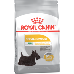 Royal Canine Mini Dermacomfort сухой корм для взрослых собак мелких пород с раздраженной и зудящей кожей (Мини Дермакомфорт)