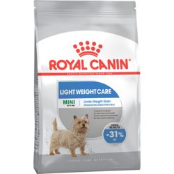 Royal Canine Mini Light для взрослых собак мелких пород предрасположенных к избыточному весу