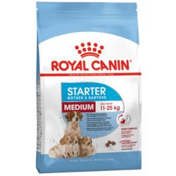 Royal Canine STARTER Medium Mother&Babydog сухой корм для щенков средних пород до 2-ух месяцев, беременных и кормящих сук (Роял Канин Медиум Стартер Мазер энд Бэбидог)