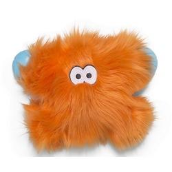 Zogoflex Rowdies игрушка плюшевая для собак Fergus 24х15 см, цвет оранжевый