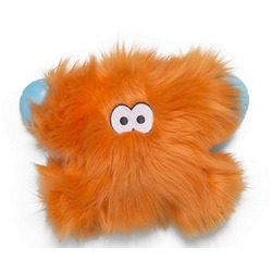 West Paw игрушка плюшевая для собак Zogoflex Rowdies Fergus 24х15 см, цвет оранжевый