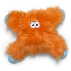 West Paw игрушка плюшевая для собак Zogoflex Rowdies Lincoln 28х18 см, цвет оранжевый