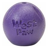 West Paw игрушка для собак мячик Zogoflex Rando, цвет фиолетовый