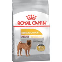 Royal Canine Medium Dermacomfort сухой корм для взрослых собак средних пород с раздраженной и чувствительной кожей (Роял Канин Медиум Дермакомфорт)