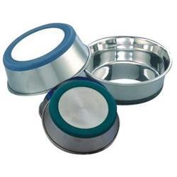 Ancur металлическая миска с прорезиненным основанием и утяжеленным дном