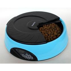 Feedex автокормушка на 4 кормления с ЖК дисплеем, голубая