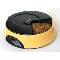 Feedex автокормушка на 4 кормления с ЖК дисплеем, желтая