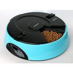 Feedex автокормушка на 6 кормлений с ЖК дисплеем, голубая