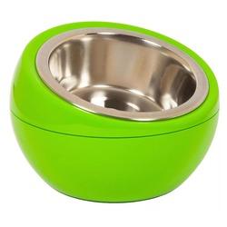 Hing миска на подставке «Шар», 350 мл, цвет зеленый
