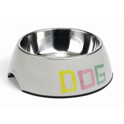 IPTS Tape Dog Миска 2в1 для собак серая