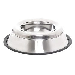 Papillon миска-непроливайка из нержавеющей стали с нескользящим покрытием, Non skid bowl swobby