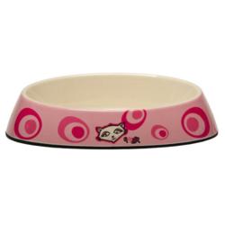 """Rogz миска с низкими ботиками """"Розовое цветение"""" Fishcake Bowlz, 200 мл"""