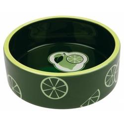 Trixie Миска керамическая Fresh Fruits, 0.3 л/ф 12 см, темно-зеленый , арт.25100
