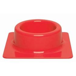 СКИДКА! United Pets миска Quadra, красная, диам. 20см