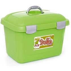 Stefanplast контейнер для хранения сухого корма Bello, цвет салатовый, объем 26 литров