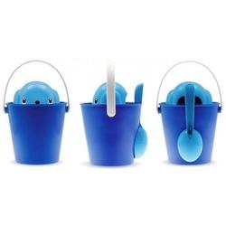 United Pets контейнер для корма Crock, цвет синий с голубым