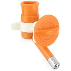 Herchy Автопоилка для животных, универсальная для пэт-бутылок, цвет: оранжевый, арт. 378-9