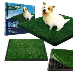 """Pet Park Zoom туалет для собак с покрытием """"Травка"""", 60х51 см."""