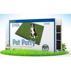 """Pet Potty Big туалет для собак с покрытием """"Травка"""", большой размер, 76х52 см"""
