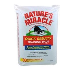 8 in 1 Training Pads пеленки впитывающие приучающие Quick Results Training Pads, 56 х 58 см