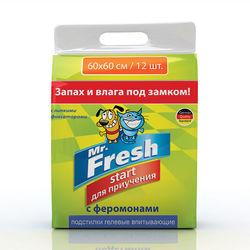 Mr.Fresh Start гелевые пеленки для приучения к месту