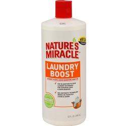 8 in 1 моющее средство для удаления аллергенов, пятен и запахов, Laundry Boost, 907 мл.