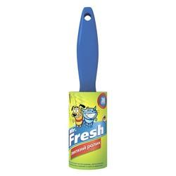 Mr.Fresh Липкий ролик, 20 листов для чистки одежды, мягкой мебели от шерсти, пуха и перхоти домашних животных