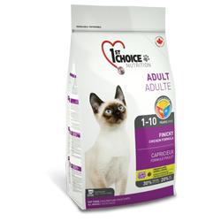 1st Choice корм для привередливых кошек от 1 года до 10 лет, с курицей (Finicky)