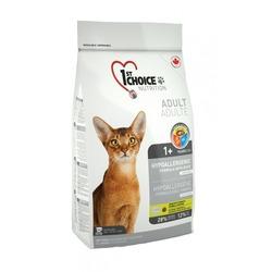 1st Choice гипоаллергенный беззерновой корм с уткой и картофелем для кошек (Hypoallergenic)