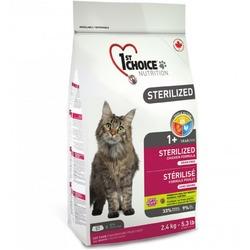 1st Choice корм для кастрированных котов и стерилизованных кошек, курица и батат
