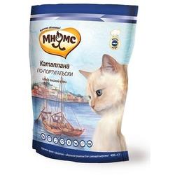 Мнямс корм для взрослых кошек Катаплана по-португальски (с форелью)