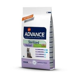 Advance Sterilized Hairball для вывода шерсти у стерилизованных кошек
